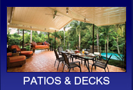 Patios & Decks Townsville